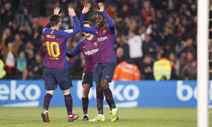 Барселона против Лиона