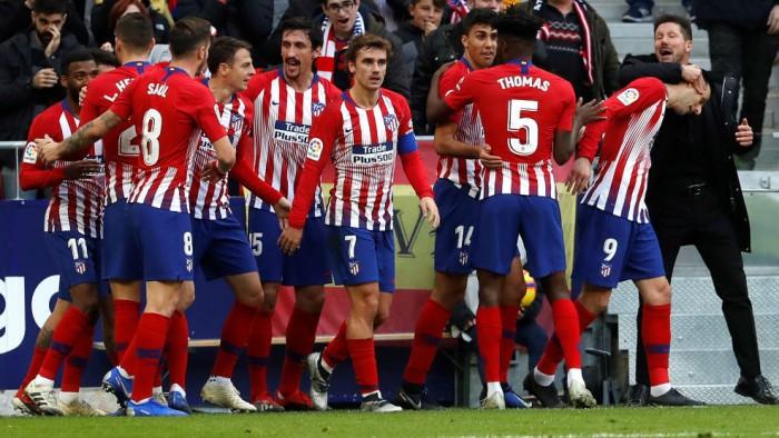Атлетико против Сельты. Чемпионат Испании