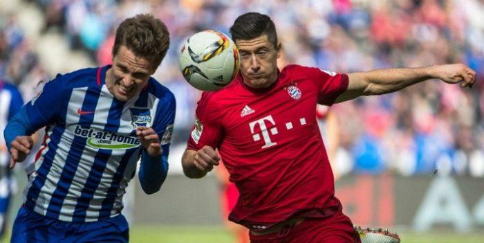 Бавария Мюнхен против Герты Берлин