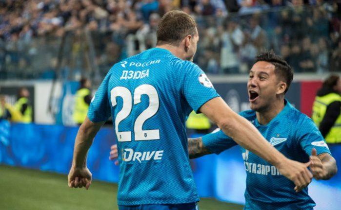 Зенит против Фенербахче, Лига Европы