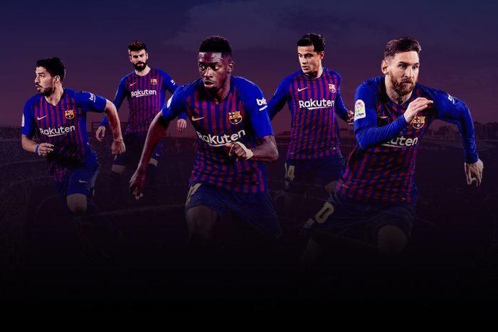 Барселона против Манчестер Юнайтед
