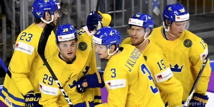 Чехия против Швеции